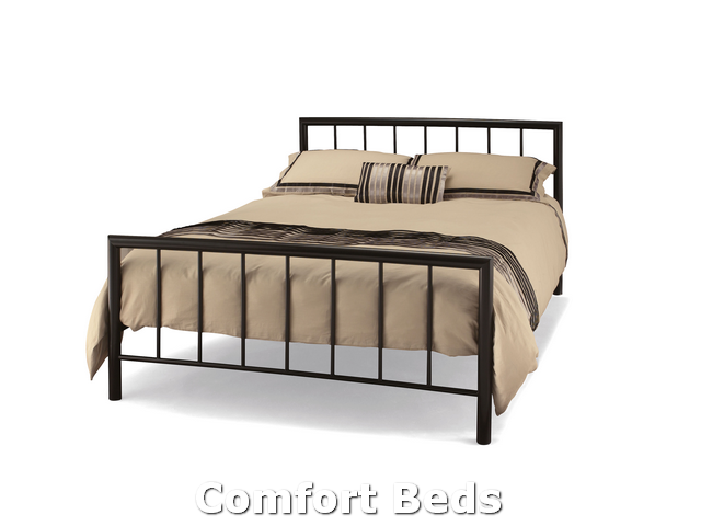 Three Quarter Modena Three Quarter Bed Frame In Black